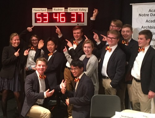 Haverford High Wins 2017 Delco Hi-Q Championship