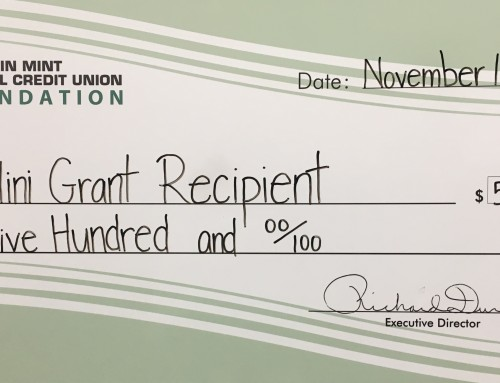 12 Teachers Awarded Nearly $5,000 in Mini-Grants