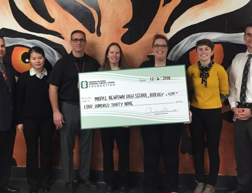Marple Newtown Biology Program Receives Foundation Teacher Mini-Grant