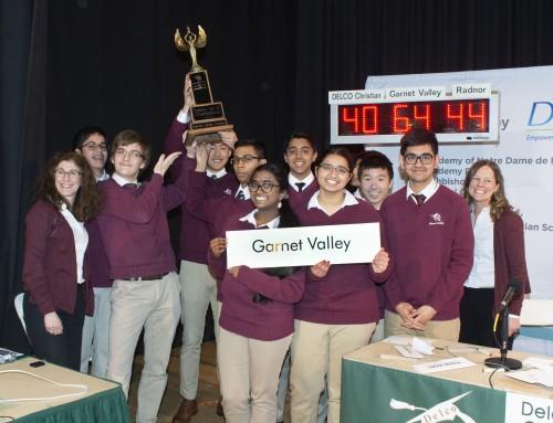 Garnet Valley Wins Delco Hi-Q Championship