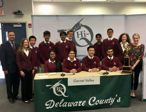 Garnet Valley Wins National Hi-Q Championship