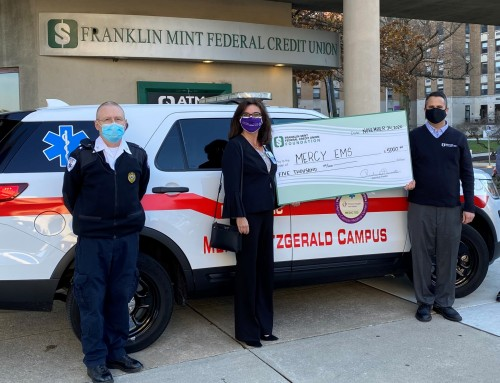 Matching Funds Donated to Mercy EMS