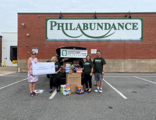 FMFCU Foundation collaborates to donate 7,380 pounds of  food to Philabundance