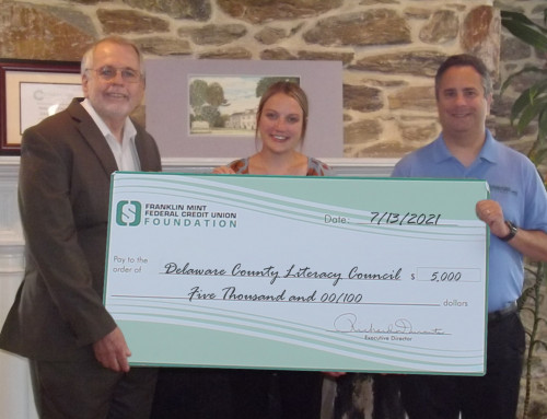 Delaware County Literacy Council Presented $5,000 Gift