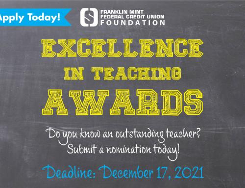 Recognize An Outstanding Teacher